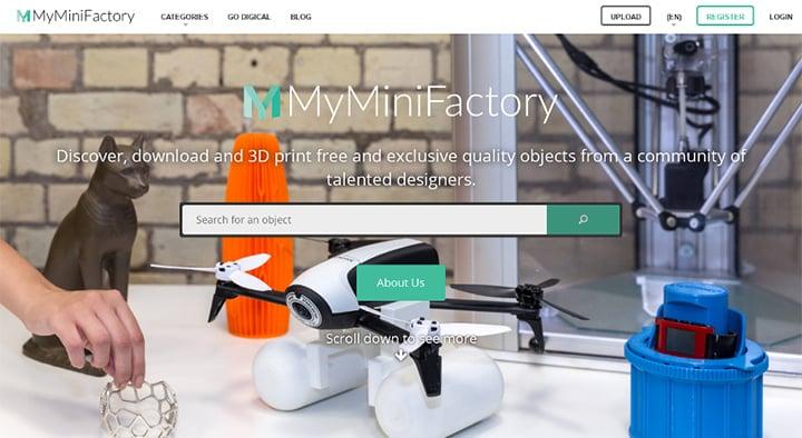 Fichier STL sur MyMiniFactory