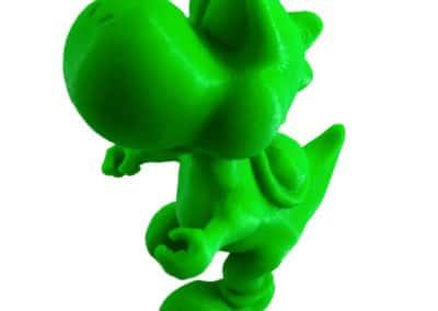 Figurine Yoshi imprimée en 3D